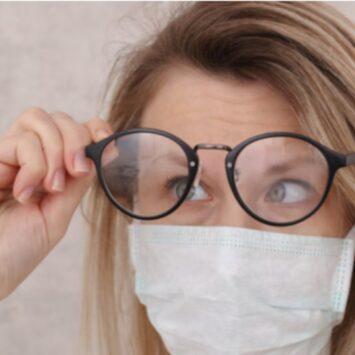 Μάσκα: Χρήσιμα κόλπα για όσους φορούν γυαλιά
